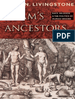 David N. Livingstone - Adam's Ancestors_ Race, Religion, And the Politics of Human Origins