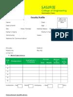 Application Form SACE
