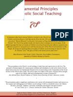 fundamental principles of catholic social teaching  july 2012