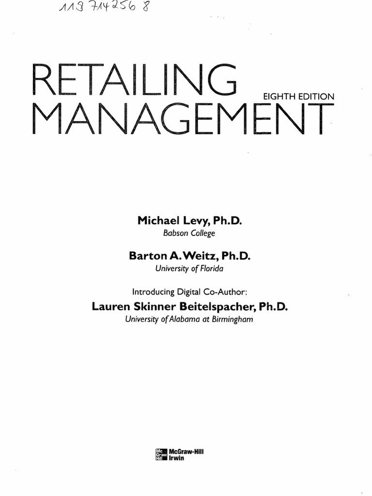Levy retail strategic management fandeluxe Images