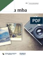 Informator 2016 - studia MBA - Wyższa Szkoła Bankowa w Szczecinie.pdf