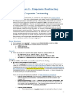 Corporate Contracting 2014