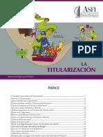 TITULARIZACIÓN - Autoridad de Supervisión Del Sistema Financiero -Bolivia-