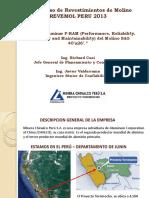 IV Congreso de Revestimientos de Molino REVEMOL PERU 05-06-13 - MCP