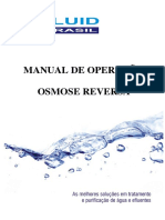 Manual Osmose Reversa - Fluid Brasil