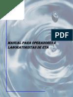 Manual CQA Para Operadores e Laboratorista de ETA