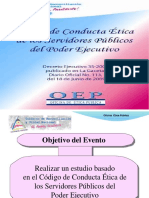 Código de Ética de los Servidores Públicos