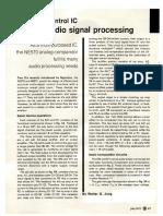 Gain Control IC for Audio Signal Processing HR 0777