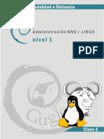 Guía Linux - Clase 2 - Conceptos Teóricos