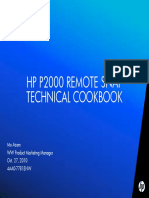 Hp p2000 Remotesnap Technical Cookbook