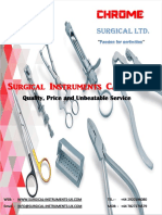 Chrome General Surgical Catalogue