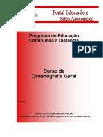 Curso de Oceanografia Geral - Portal Educação  Módulo I.pdf