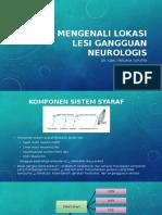 Mengenal Lokasi Gangguan Neurologis