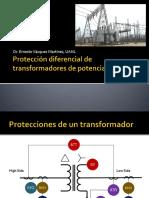 Proteccion Diferencial de Transformadores de Potencia