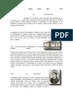 Cronología de Rubén Darío