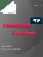Psicomotricidade e Dança Sénior