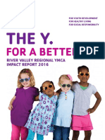 River Valley Regional YMCA - 2016 Annual Impact Report