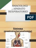 farmacología aparato respiratorio