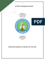 Environment Law Final