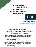 Familia y Escuela.