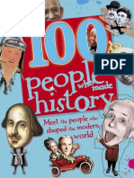 DK 223248011 DK 100 People Who Made History