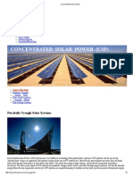 Concentrated Solar Power 9