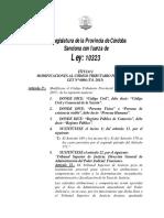 Modificaciones Al Código Tributario Provincial (1)