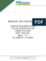 Manual Ponte Rolante 220V 210882
