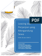 Leasing (PSAK 30 dan ISAK 8)