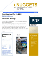 Mar 2016 NUPA Newsletter