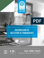 Publicaciones Humanidades