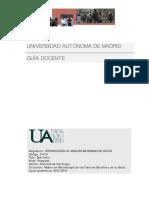 Guia DWocente Sem Introduccion Al Analisis Bayesiano de Datos a Distancia