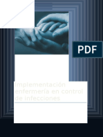 Implementación Enfermería en Control de Infecciones