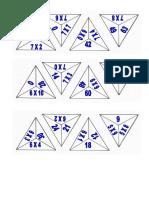fichas triángulosMULT567