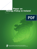 DCENR  Paper on Energy Policy in Ireland