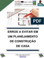 Erros a Evitar Em Um Planejamento de Construção de Casa
