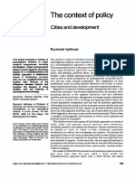Cities Volume 1 issue 2 1983  Raymond Apthorpe -- The context of policy- Cities and development.pdf