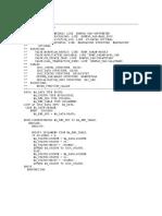Inmound Function Module Program