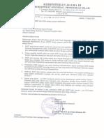 Surat Dirpenma Tentang Ketentuan Cetak SKBK Dan SKMT