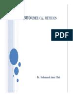 Lec 02 GENG 300 Numerical Methods