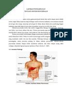 Laporan Pendahuluan Tentang Sistem Pencernaan Edit