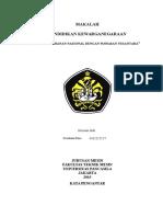 Makalah PKN-Ketahanan Nasional Wawasan Nasional