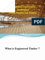 Advanced Construction  Techniques Using Engineered Timber