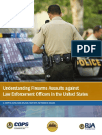 Understanding Firearms Assaults Against Police in the US