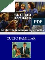 El Culto Familiar