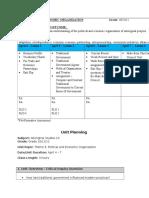 lesson calendar - political organization