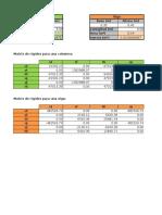 Matricial pórticos planos