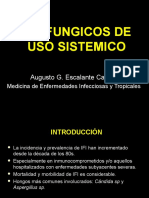 8ava Clase-Antifungicos Sistemicos Uso Clinico