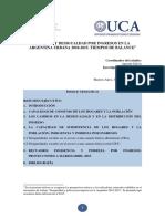 Informe Observatorio de La Deuda Social Argentina (UCA)