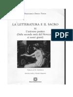 f  grisoni in f d  tosto  a cura di  la letteratura e il sacro iii 2011 pp  301-305